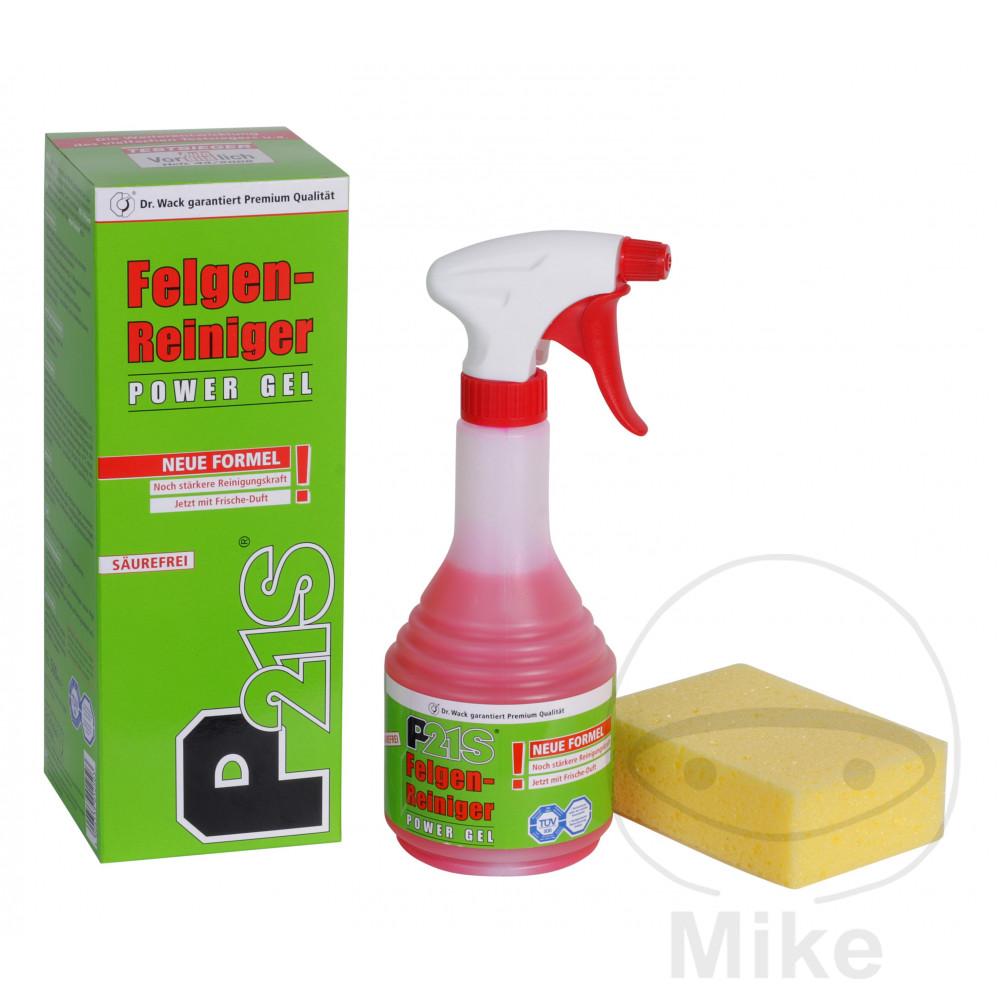 p21s power gel wheel cleaner spray bottle 500ml. Black Bedroom Furniture Sets. Home Design Ideas