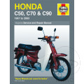 MANUAL DE REPARACIÓN INGLÉS Honda HONDA C50  C70  C90  1967-ONWARDS