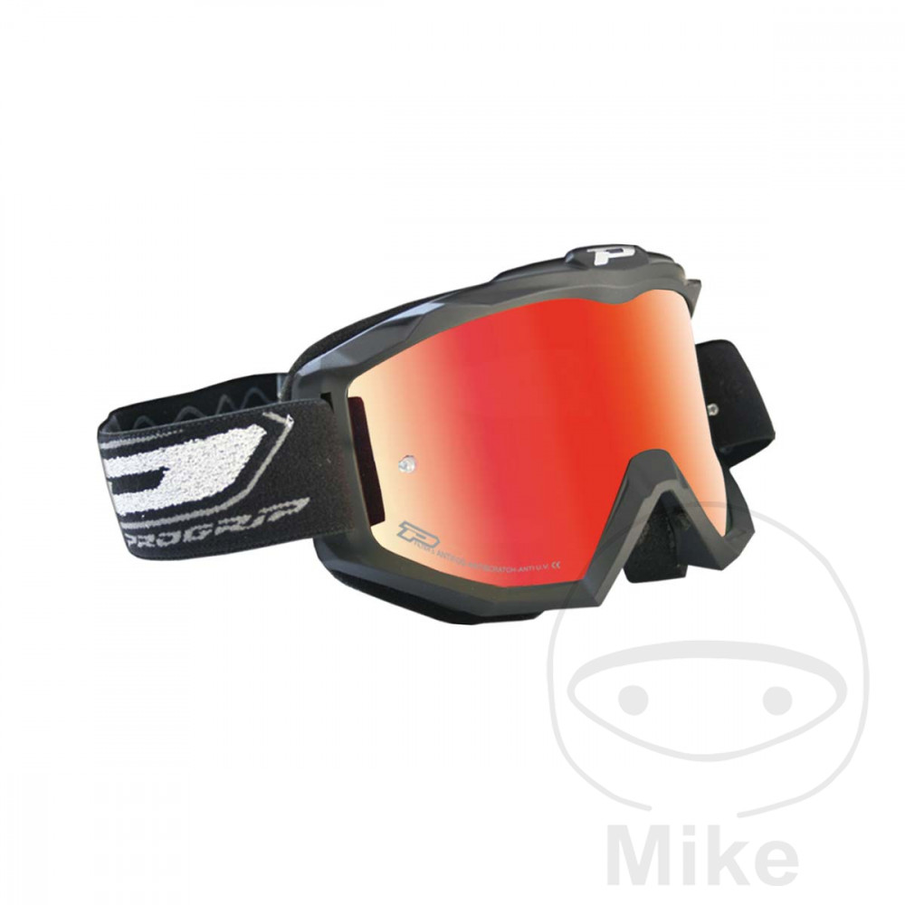 GOGGLES MULTILAYERED 3209 MATT BLACK/RED - 712.00.31