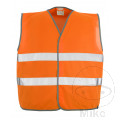 Warnweste grau.3/4XL orange Mascot Packung: 10STCK