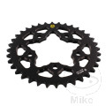 REAR SPROCKET ALU 36 TOOTH PITCH 525 BLACK SIT INNER DIAMETER 076 BOLT SPACING 100