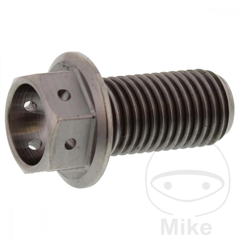 HEX BOLT JMP M10X1 25 20MM RAC TITANIUM | Motomike