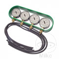 THROTTLE BALANCING VACUUM GAUGE 4 DIAL KIT JMP