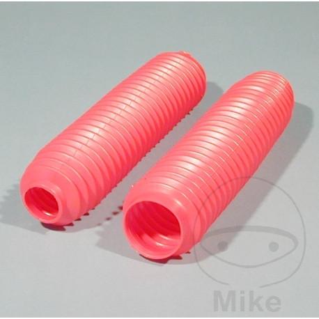 Faltenbälge Gabel Faltenbalg rot oben 38-41 unten 58-62 Länge bis 430 mm