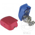 BATTERY TERMINAL CLAMP KIT QUICK mit Polabdeckkappe