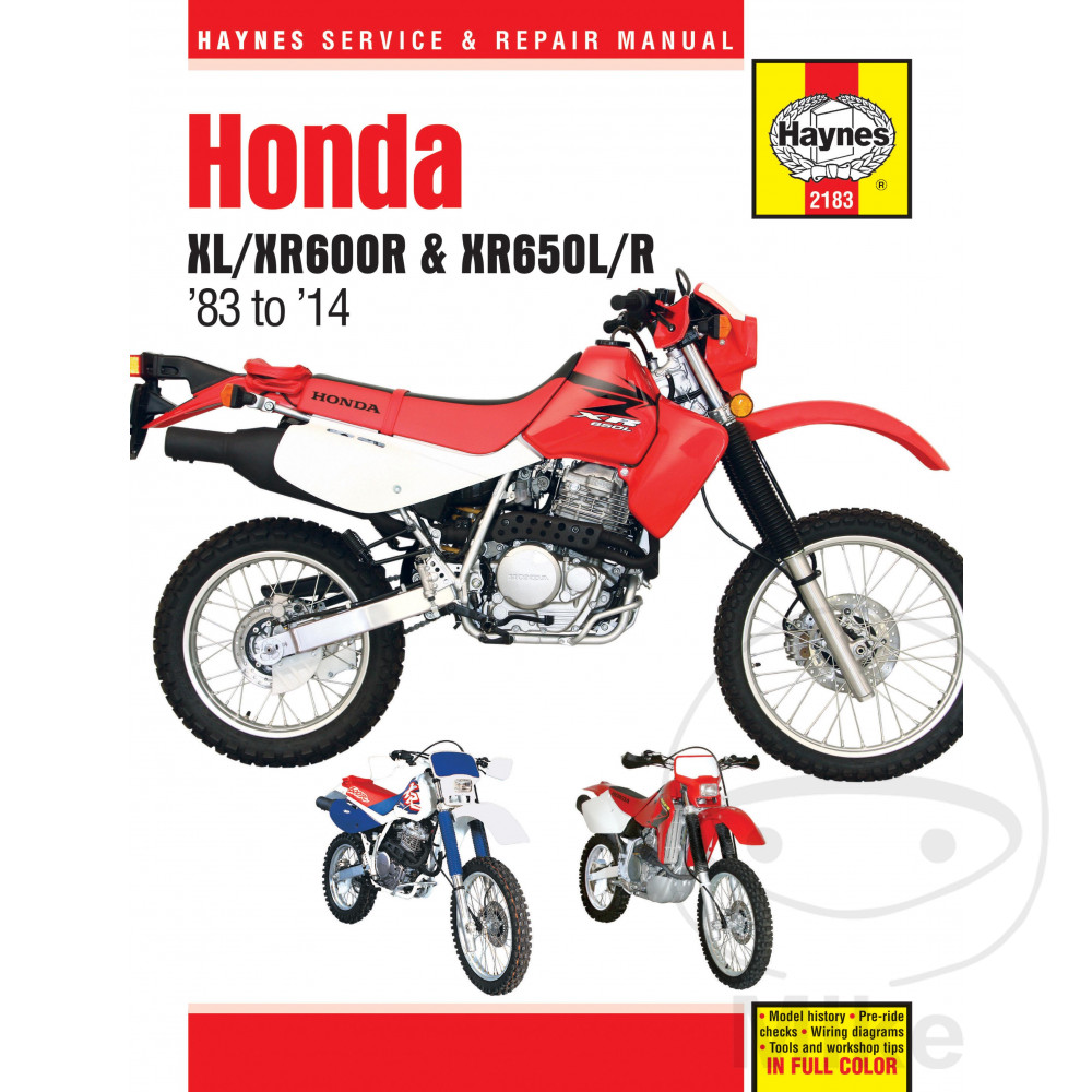 Sentinel Motorcycle Haynes Service Repair Manual 2183