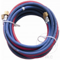 AUTOGENOUS TWIN WELDING HOSE WITH CONNECTORS 10 METRE OXY & ACETYLENE