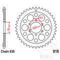REAR SPROCKET 41 TOOTH PITCH  630 INNER DIAMETER 76 BOLT SPACING 100