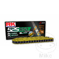 RK X-RING CHAIN YELLOW 525XSO/108 OPEN CHAIN WITH RIVET LINK