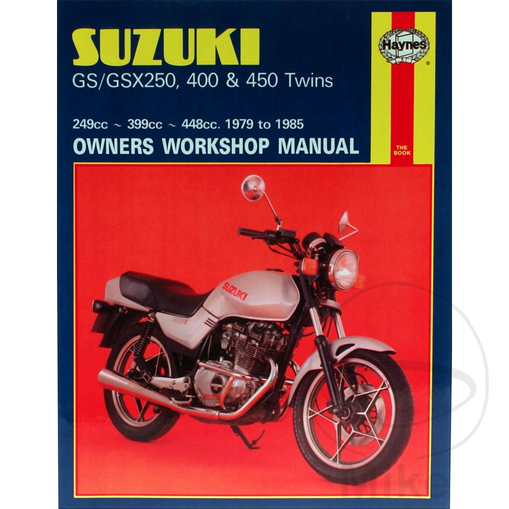 HAYNES REPAIR MANUAL SUZUKI GS/GSX250, 400 & 450 TWINS 1979 - 1985