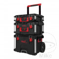 Trolley mit 3 Koffer Milwaukee PACKOUT