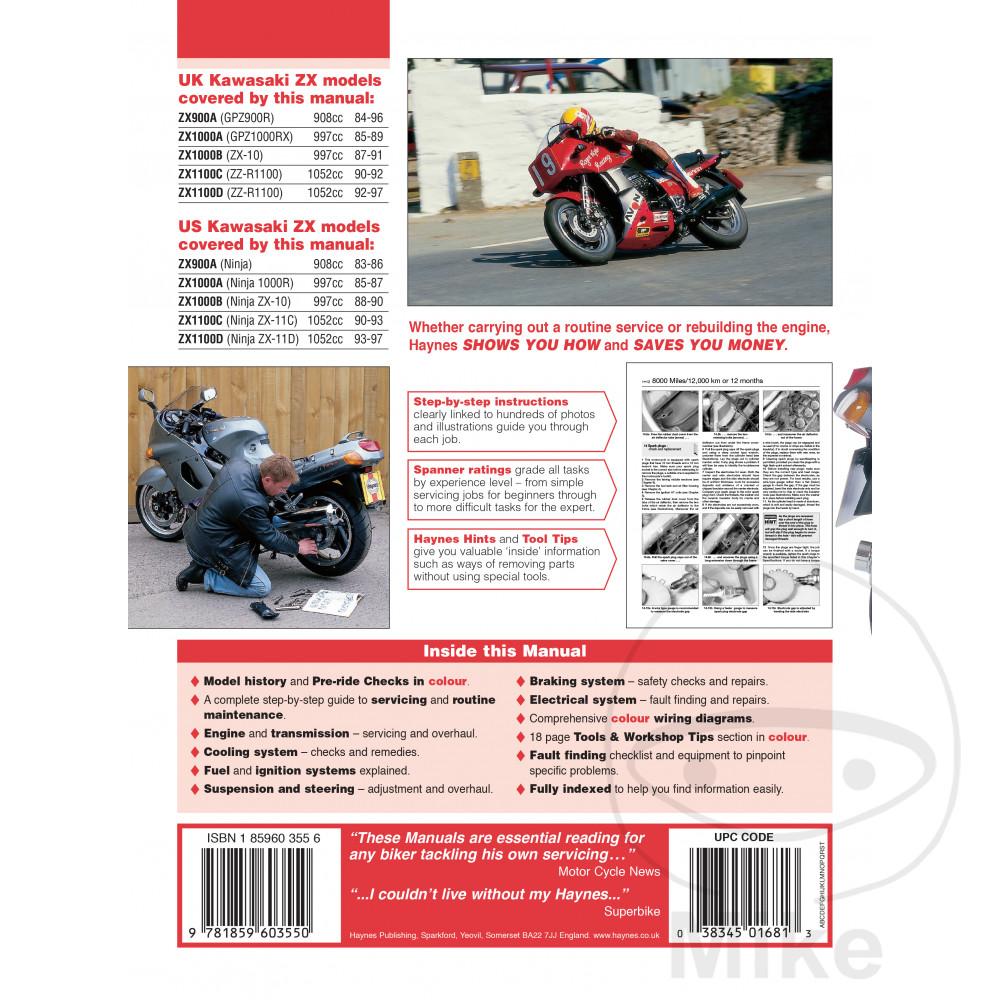 Sentinel Motorcycle Haynes Service Repair Manual 1681