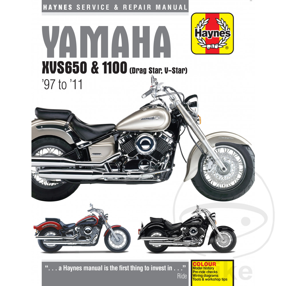 MANUAL DE REPARACIÓN INGLÉS Yamaha YAMAHA XVS650 & 1100 DRAG ... on yamaha schematics, yamaha motor diagram, suzuki quadrunner 160 parts diagram, yamaha ignition diagram, yamaha steering diagram, yamaha wiring code, yamaha solenoid diagram,