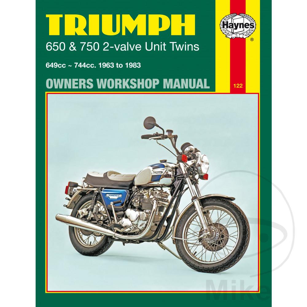 Sentinel Motorcycle Haynes Service Repair Manual 0122