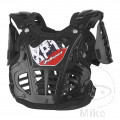 CHEST PROTECTOR XP1 MINI BLACK/SI