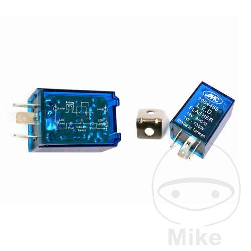 FRECCE LED Relè blinkrelais Lampeggiatore Relè Lampeggiatore Lampada 12v carichi indipendentemente