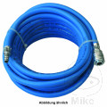 AIR LINE HOSE SOFT LW9 10M WITH STEEL MALE & Q/R COUPLING