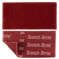 SCOTCH BRITE ABRASIVE HAND PAD DURABLE FLEX 115x230x5 RED 3M