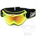 Brille Multilayered 3204 fluoreszierend gelb/rot