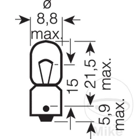 6w Ba9s Mini Xe