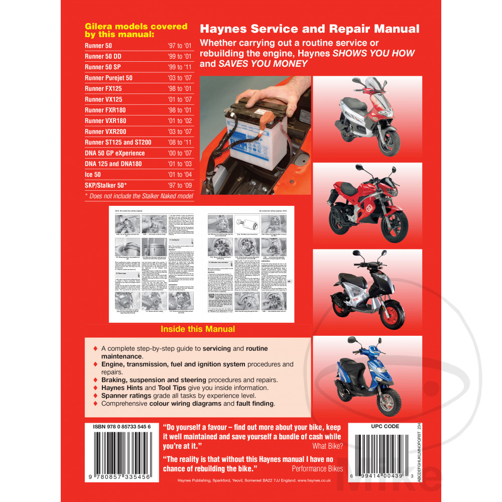 Sentinel Haynes Service Repair Manual 4163