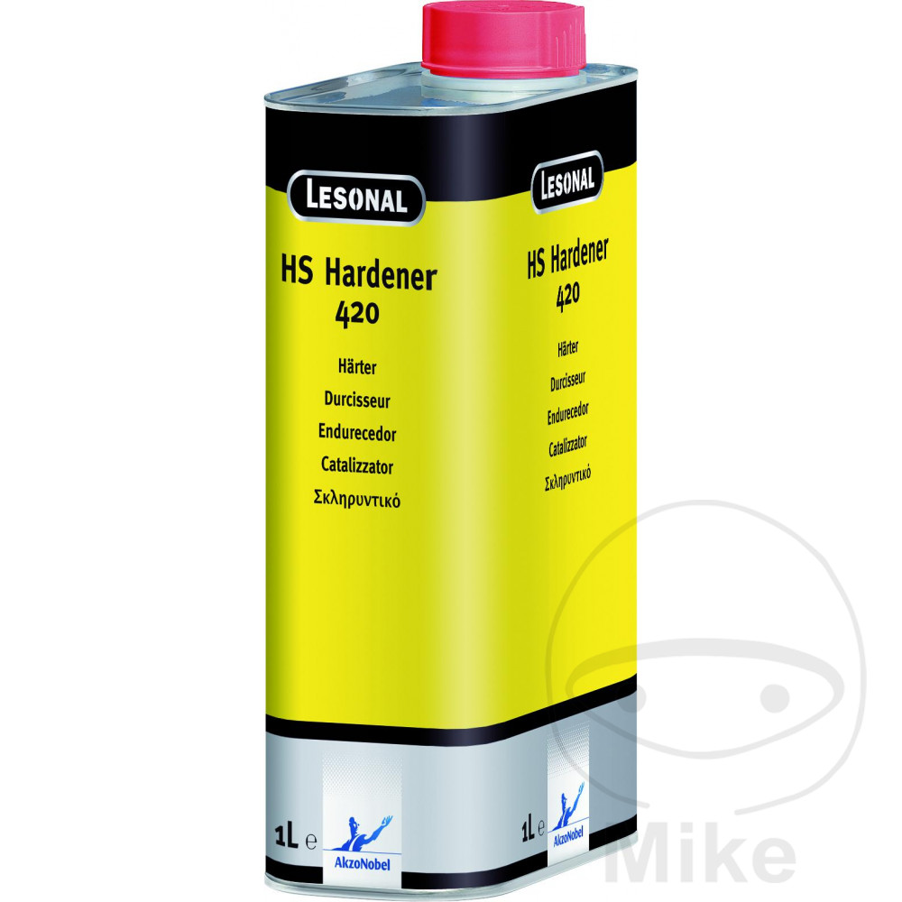 LESONAL HS 420 HARDENER FOR TOPCOAT & CLEAR LACQUER SEE ALSO
