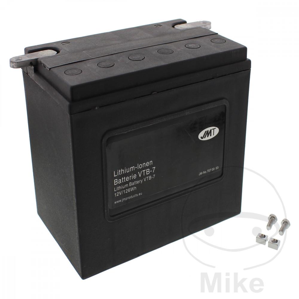 batterie motorrad vtb 7 v twin jmt lithium ionen motomike. Black Bedroom Furniture Sets. Home Design Ideas
