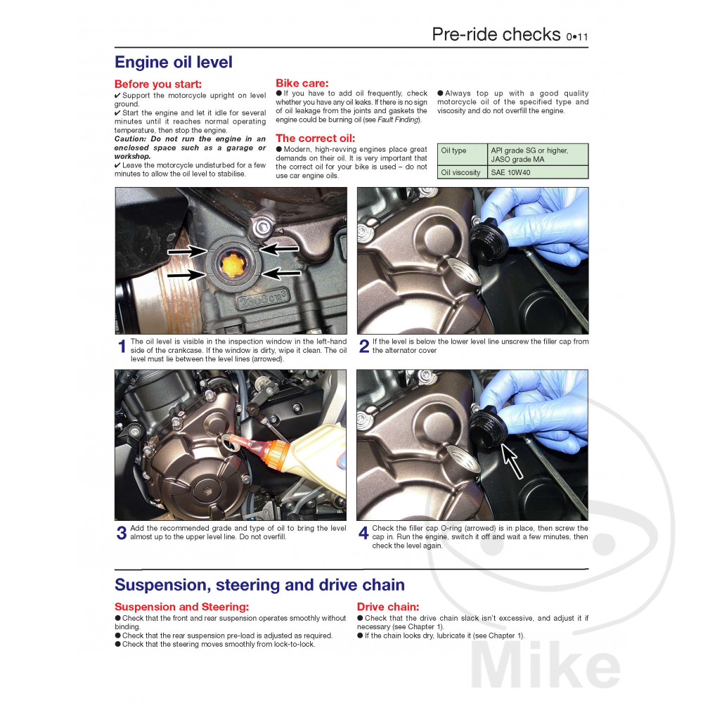 HAYNES REPAIR MANUAL YAMAHA MT-07/FZ-07/Tracer/XSR700 | Motomike