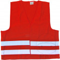 HIGH VIS SAFETY VEST ORANGE EN ISO 20471 SEE ALSO 2982264