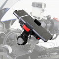 DAYTONA SMART PHONE HOLDER WITH 22-29MM CLAMPS