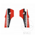 STICKER FORK PROTECTOR BLACK BIRD RACING Dream 4 Honda