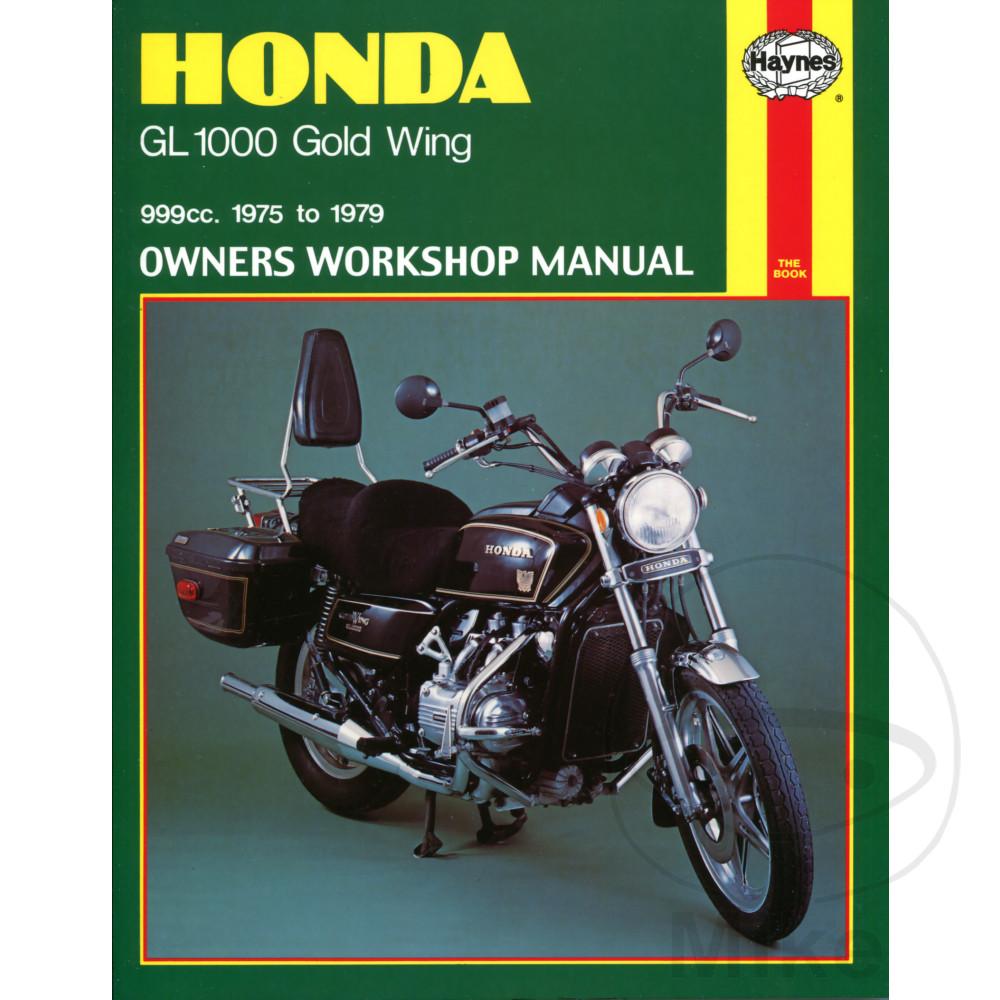 haynes repair manual honda gl1000 gold wing 75 79 motomike rh motomike eu Parts Manual GVC190 Honda Honda Rebel Owner's Manual