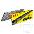 DID X-RING CHAIN 520VX3/102 OPEN CHAIN WITH RIVET LINK