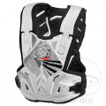 POLISPORT ROCKSTEADY CHEST PROTECTOR BODY ARMOUR WHITE