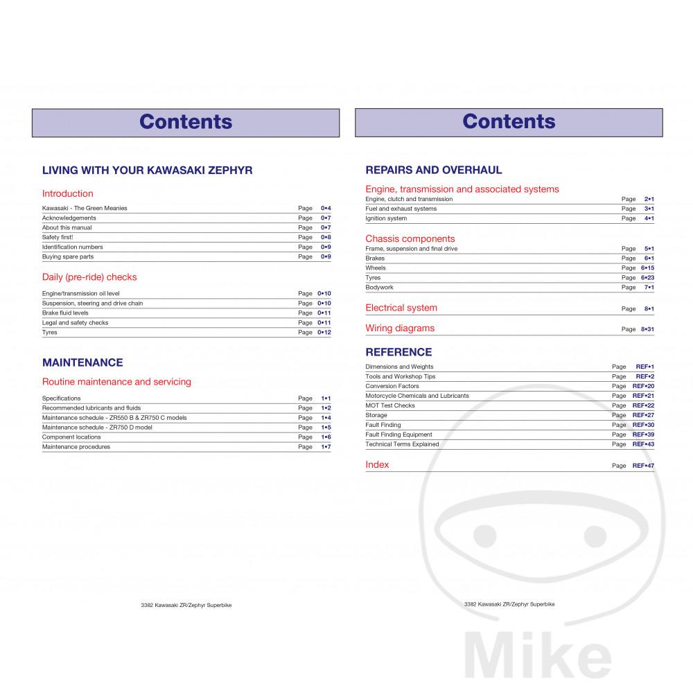 Sentinel Motorcycle Haynes Service Repair Manual 3382