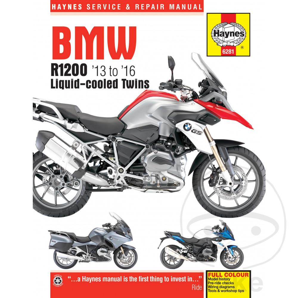 HAYNES REPAIR MANUAL BMW R1200 DOHC TWINS (13-16)