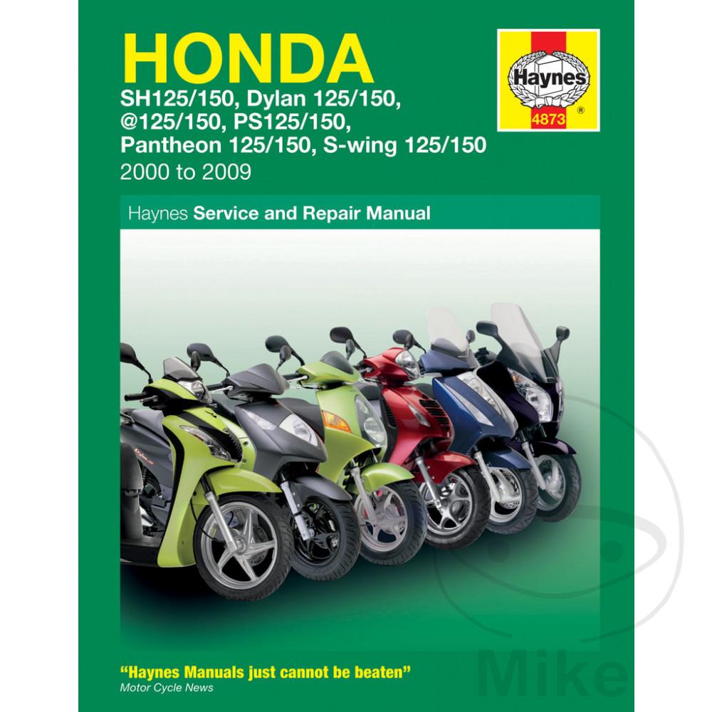 Details about Honda SES 125 Dylan 2002 Haynes Service Repair Manual 4873