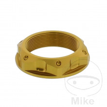 Mutter Lenkkopf Pro Bolt M33X1.00 mm alu gold