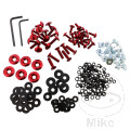 PROBOLT FAIRING BOLT KIT ALUMINIUM RED
