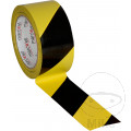 BODENMARKIERBAND BLACK/YELLOW 50 mm x 33 m