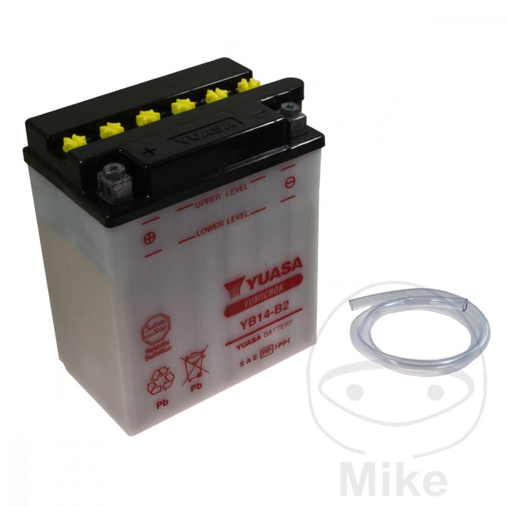 YUASA YB14-B2 Batterie de Moto