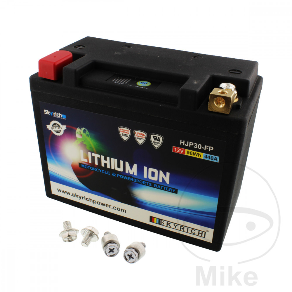 batterie motorrad hjp30 fp skyrich lithium ionen mit. Black Bedroom Furniture Sets. Home Design Ideas