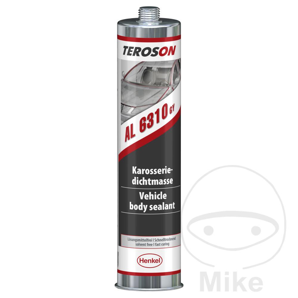 dichtungsmasse acryl 310 ml teroson alu 6310 gy | motomike