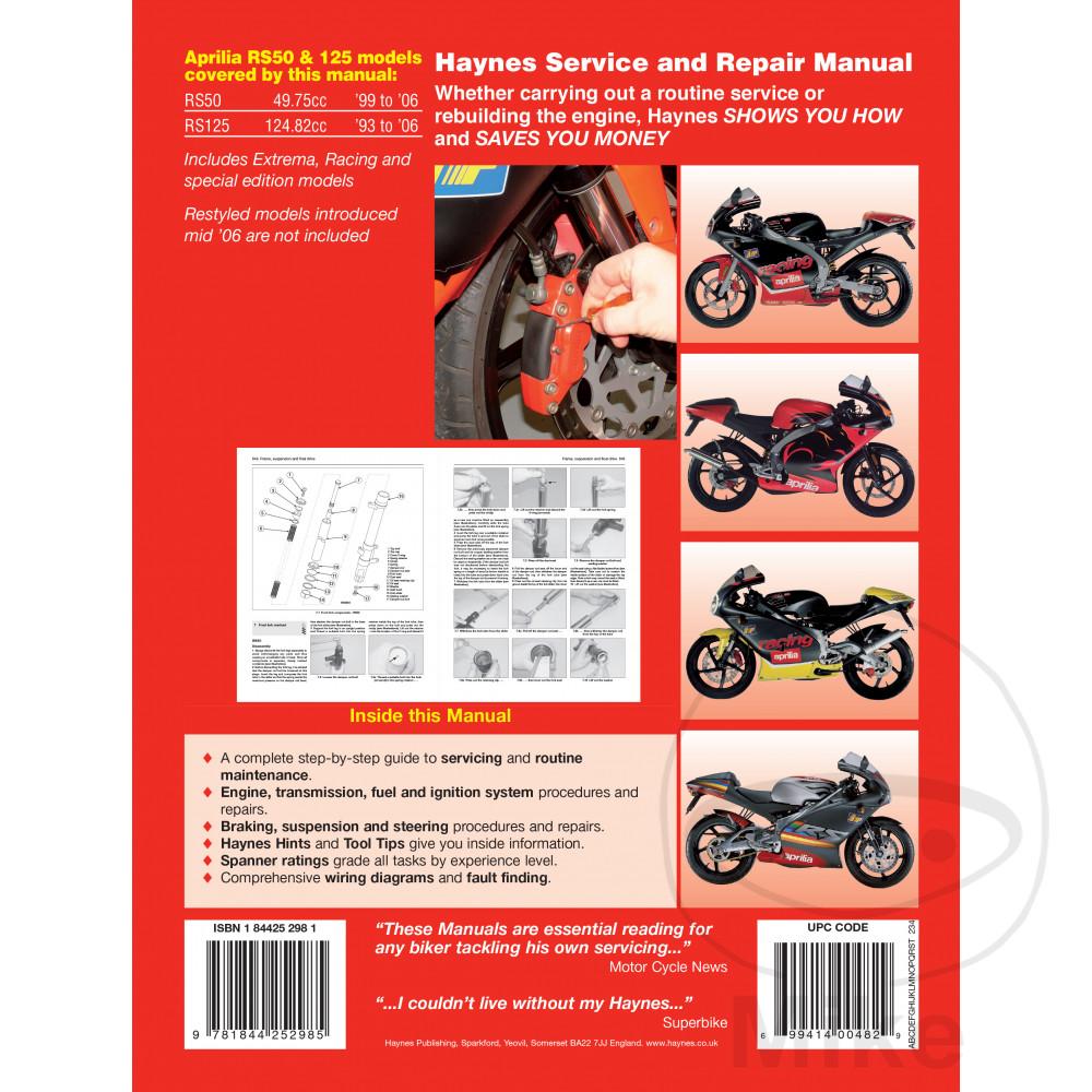 Sentinel Motorcycle Haynes Service Repair Manual 4298