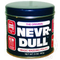 NEVR DULL METAL POLISH WADDING 142g MIRROR FINISH POLISH
