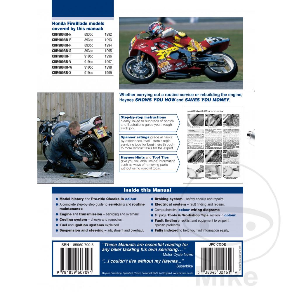 WRG-0721] 92 Cbr900rr Wiring Diagram on