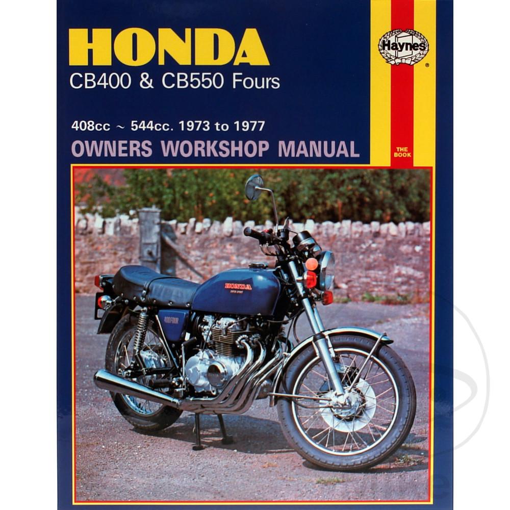 honda cb 400 f four 1977 haynes service repair manual 0262 ebay rh ebay co uk Honda CB 125 Honda CB500T