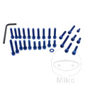 ENGINE BOLT SET JMP PROBOLT ALU BLUE