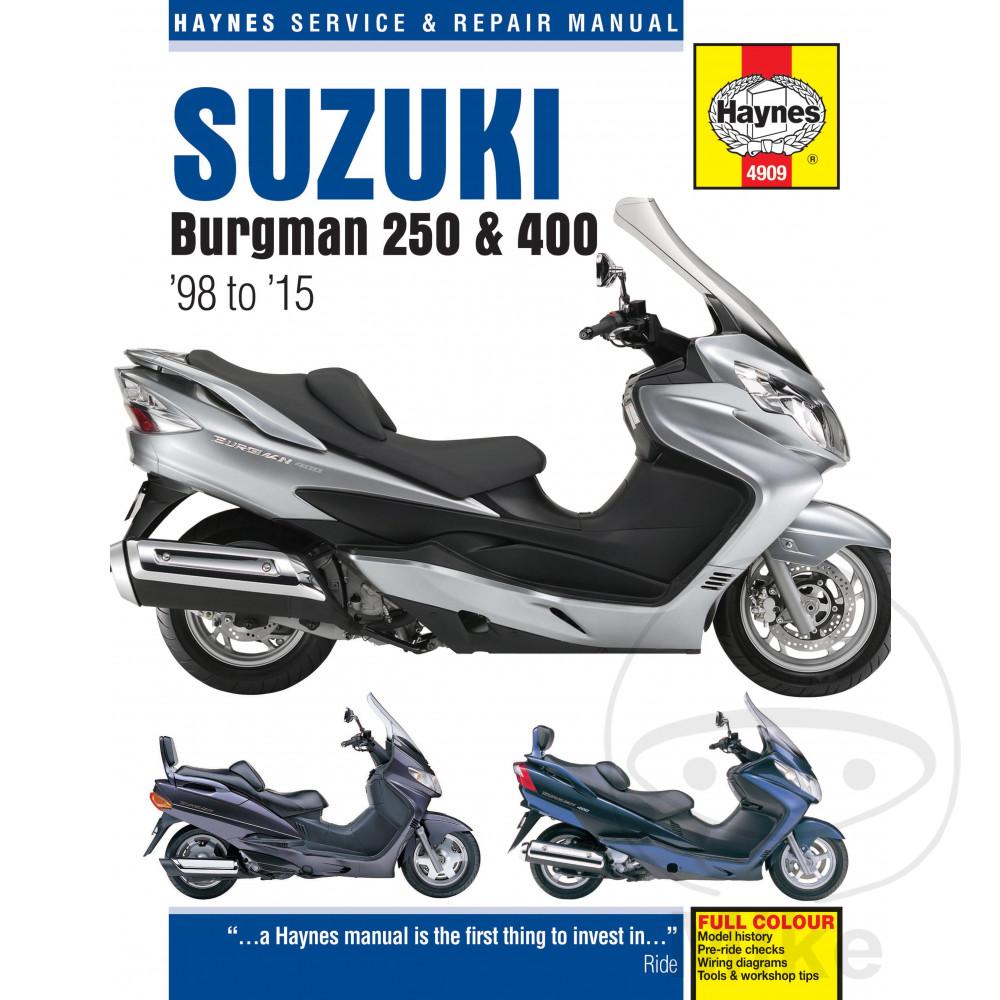 2012 Suzuki Burgman Wiring Diagram Opinions About Ducati Monster 400 Haynes Repair Manual 250 98 11 Motomike Rh Eu Road Star