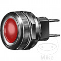 HELLA INDICATOR LAMP RED 12 - 24V FLAT CONNECTOR